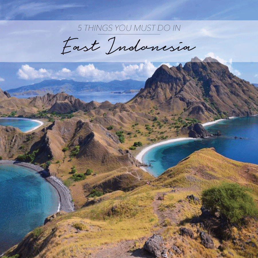 5 THINGS YOU MUST DO IN EAST INDONESIA