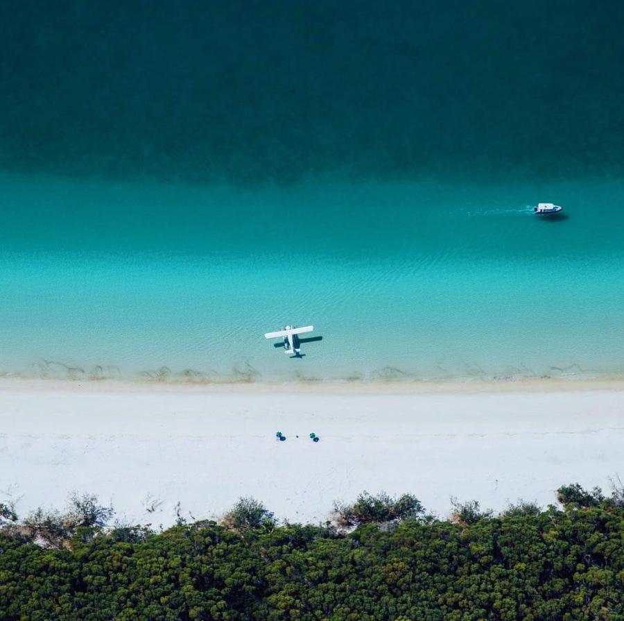 GRAM OF THE WEEK – WHITSUNDAY ISLANDS, AUSTRALIA by @helloemilie