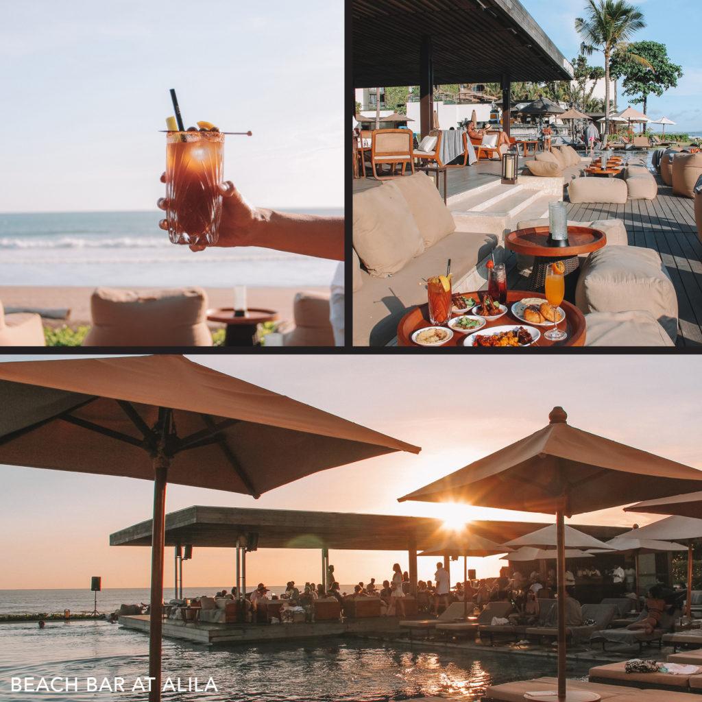 Alila Beach Bar, Seminyak