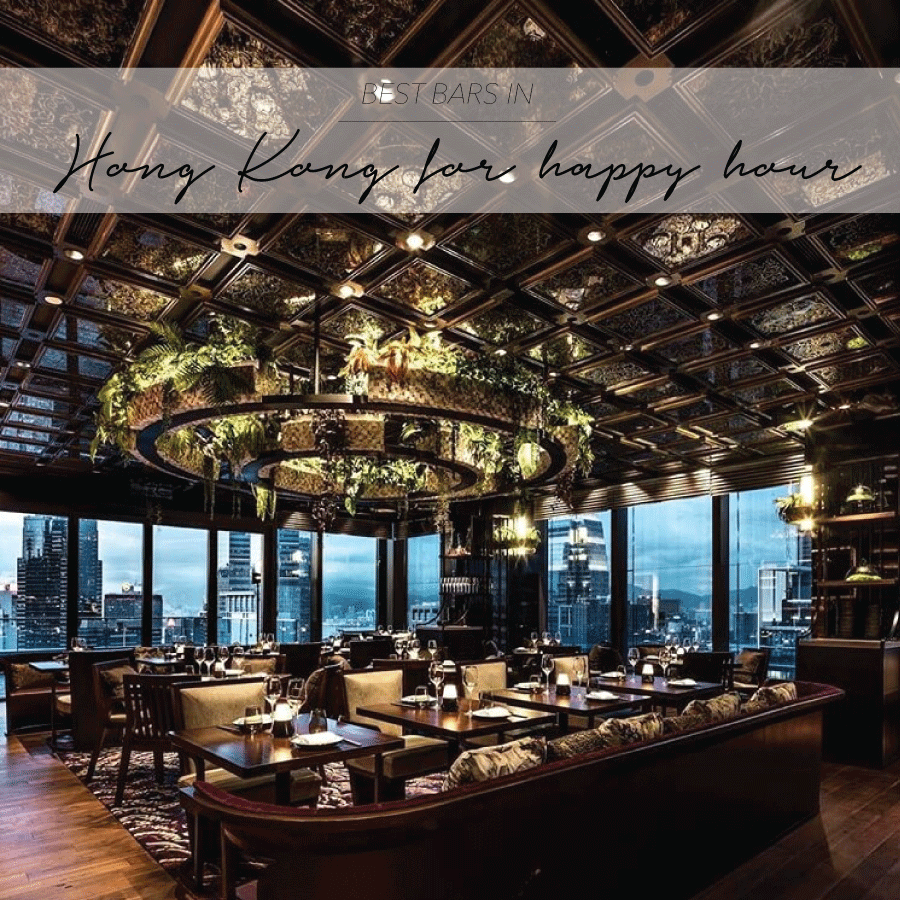 BEST BARS IN HONG KONG FOR HAPPY HOUR