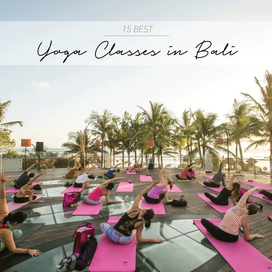 Best Yoga Classes in Bali