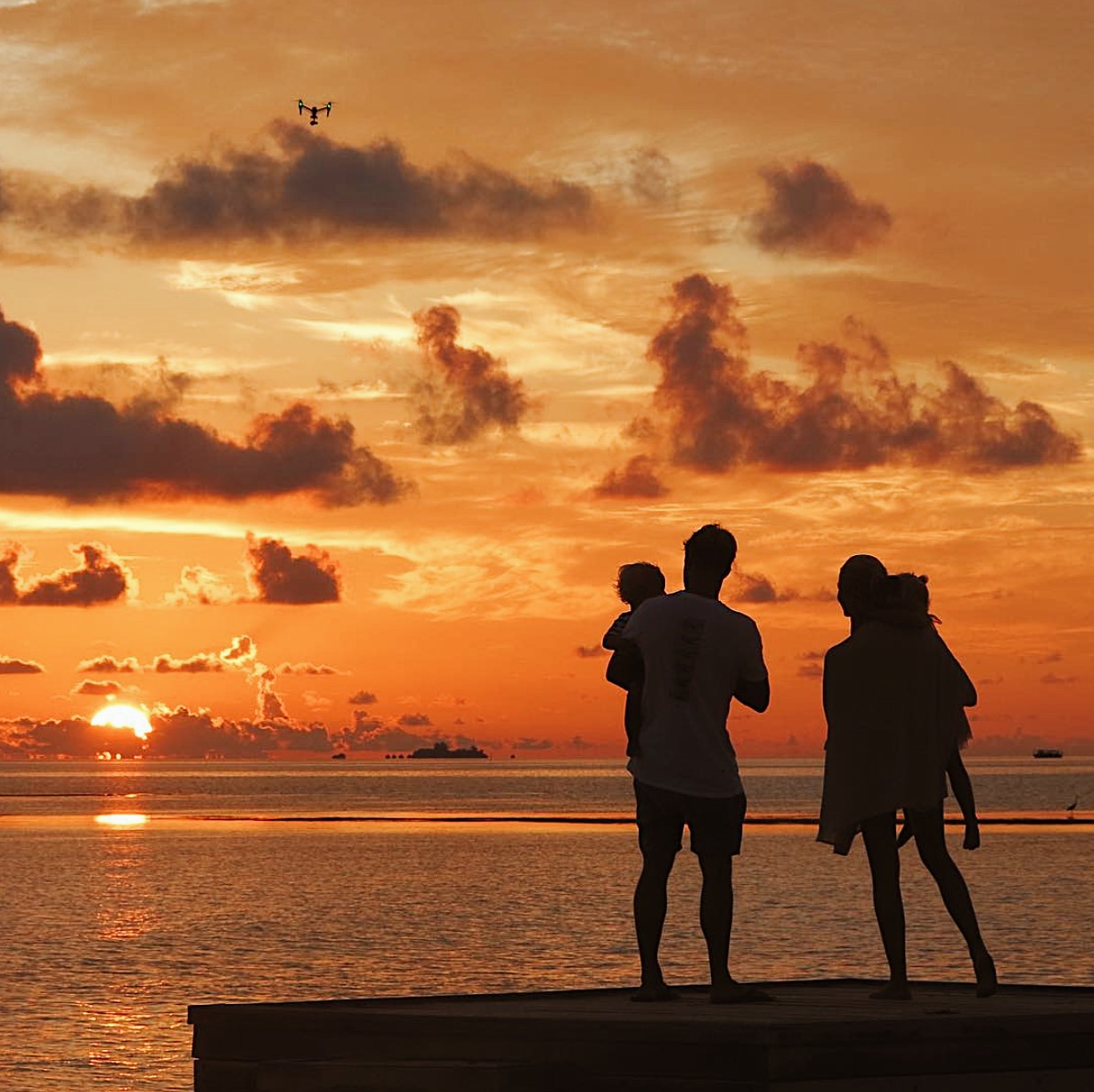 family holiday in The Maldives
