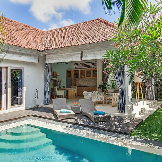 VILLA 4S, SEMINYAK, 1 & 2 bedrooms, $255 – $450 per night
