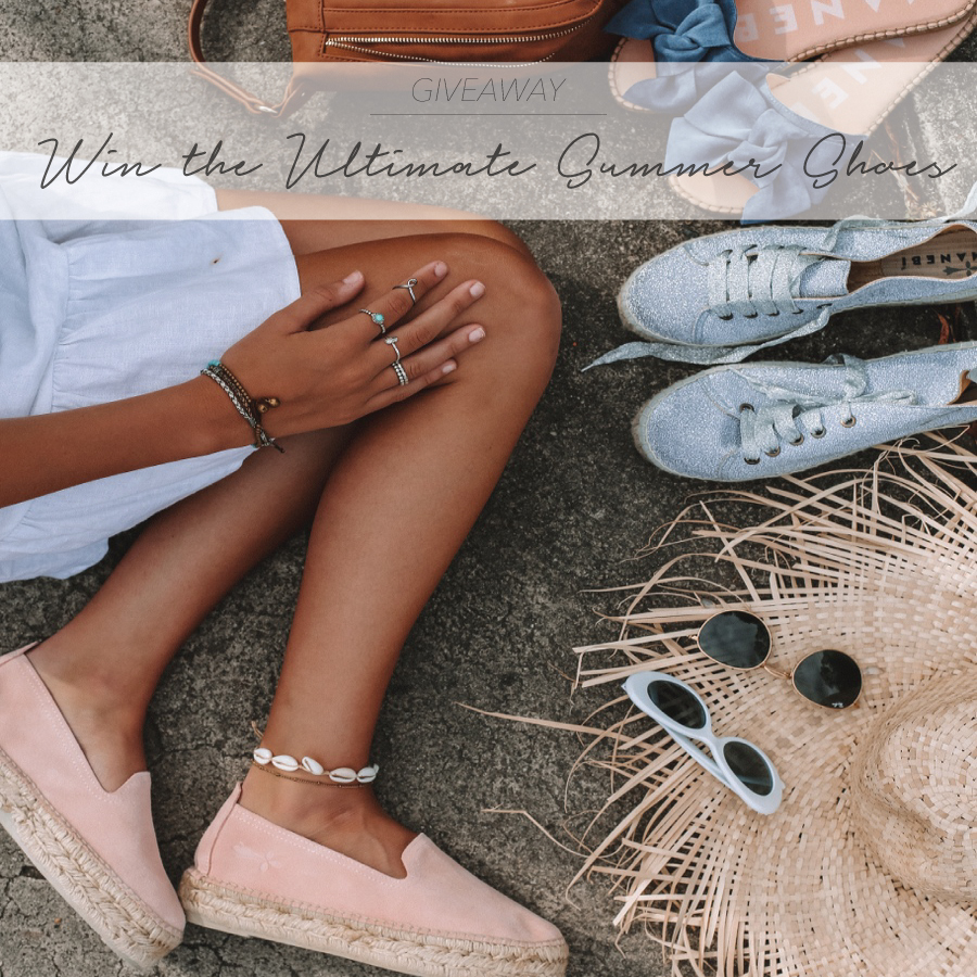 GIVEAWAY – WIN THE ULTIMATE MANEBI SUMMER SHOES!