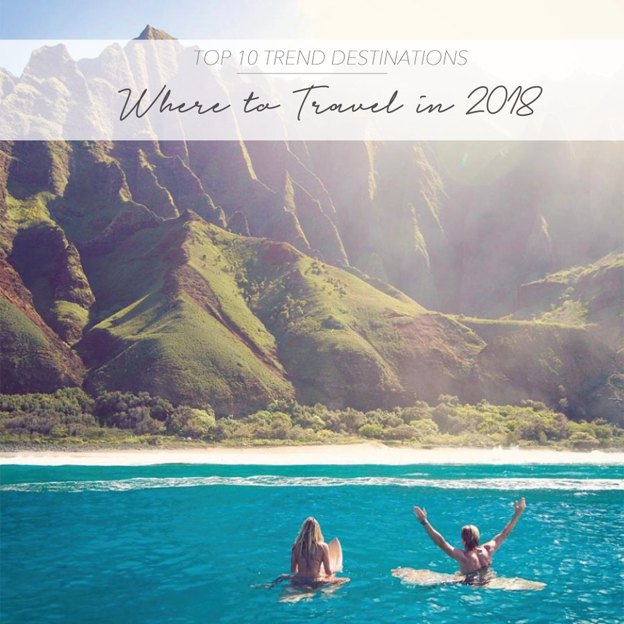 From Morocco Santorini And Tulum As Some Of The Must Visit Destinations Last Years Ultimate Trend 2017 Guide Weve Got Your 2018 Bucket