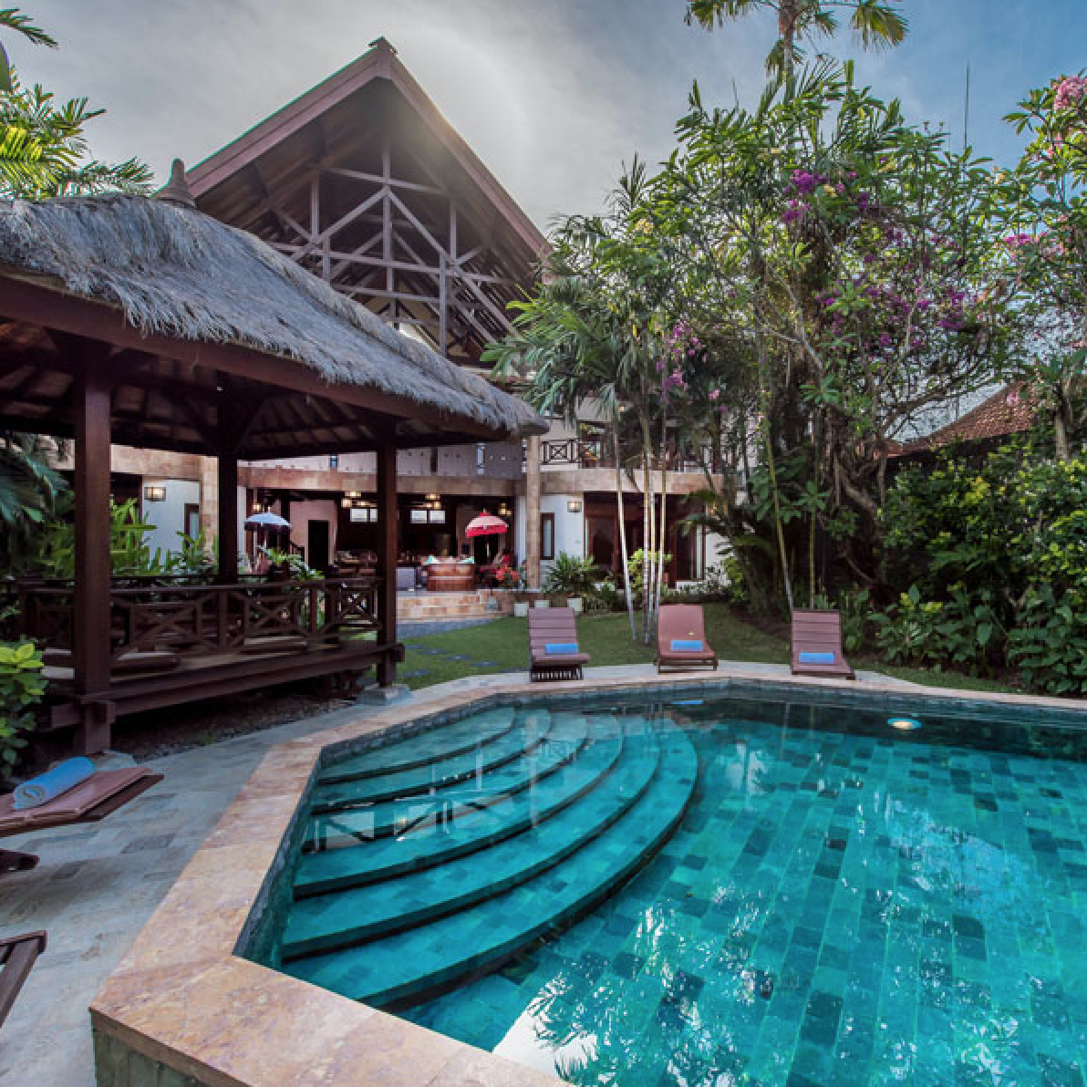 DARIA VILLAS, SEMINYAK, 2,3,4,5,12 bedrooms, $200 – $625 per night