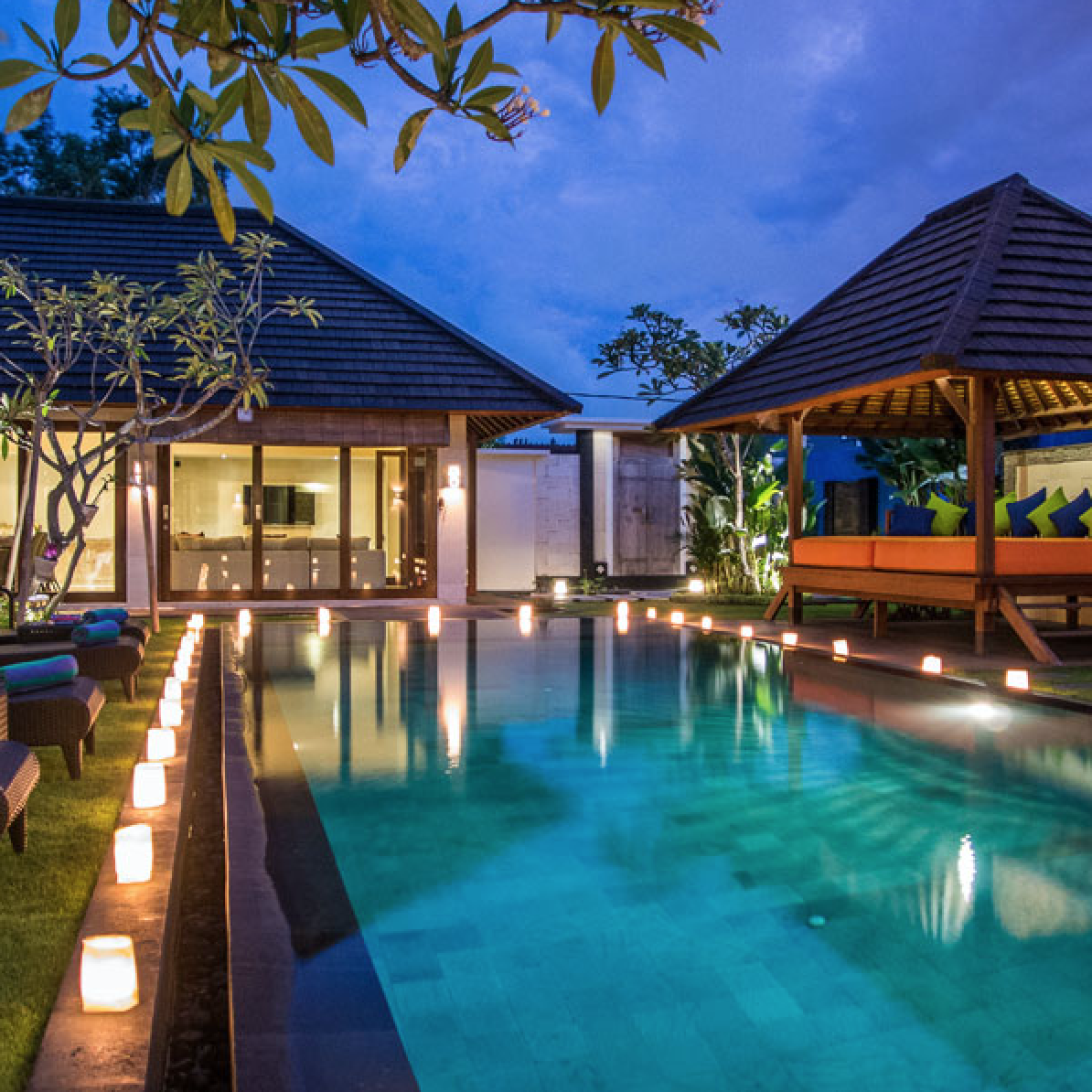 VILLA KIRGEO, CANGGU, 3,4 bedrooms, $275 – $465 per night