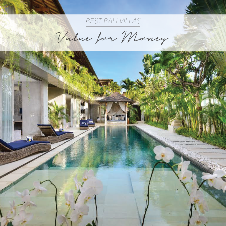 Best Bali Villas Value for money