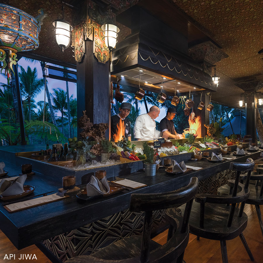Receive 15% off the bill at API JIWA with HUNGRY IN BALI.