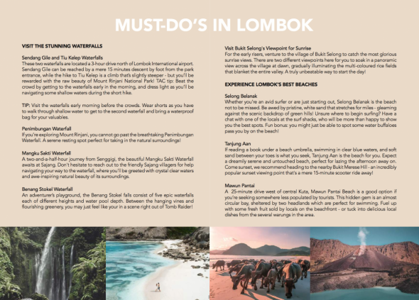 ULTIMATE BALI TRAVEL GUIDE LOMBOK