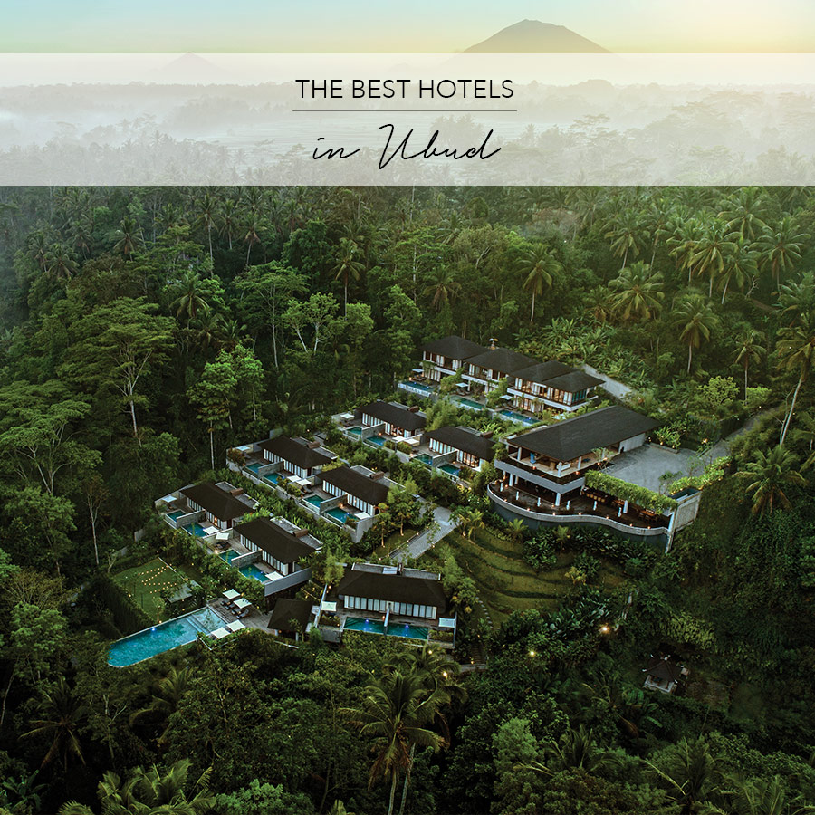 Ubud's Best Hotels