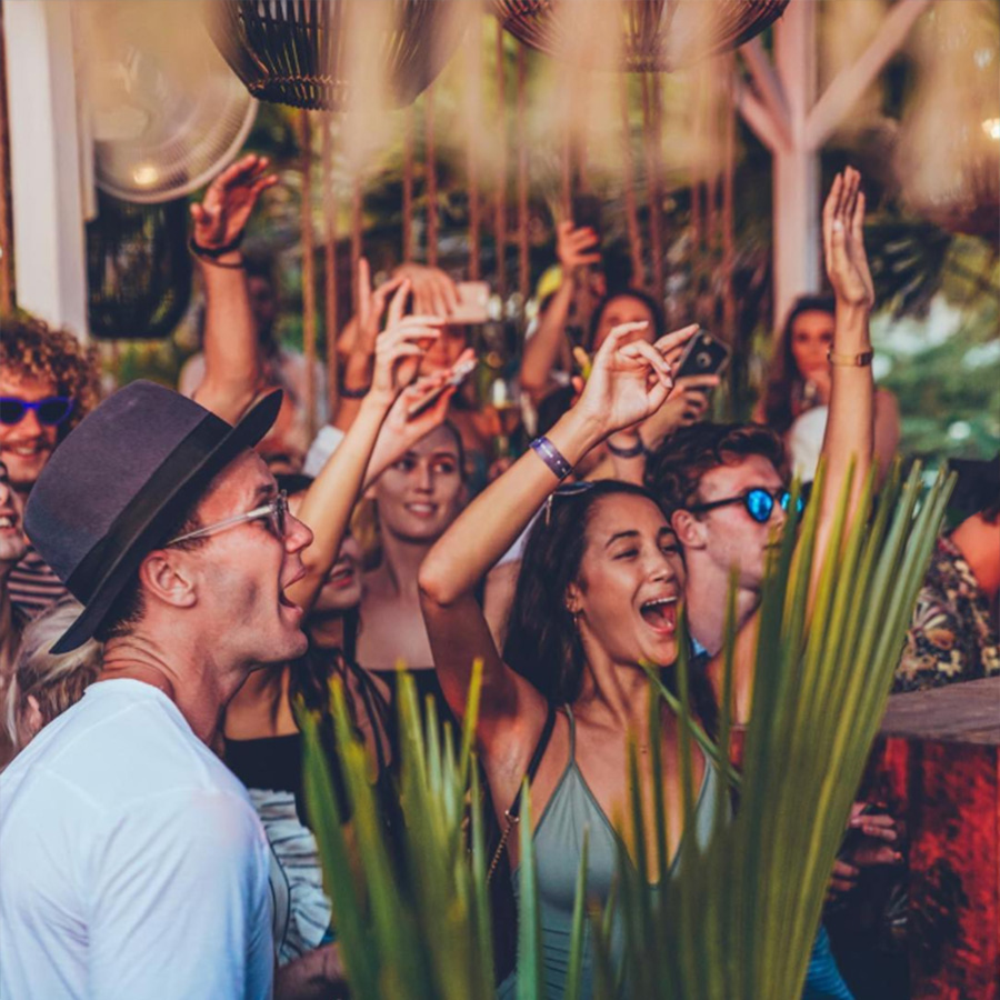 best parties in bali