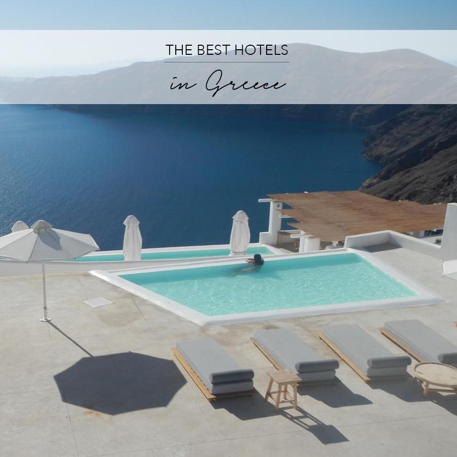 best hotels greece