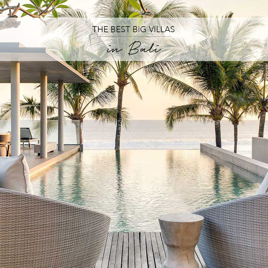 best big villas for occasions bali