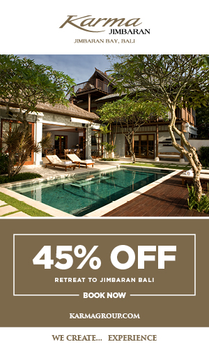BOOK YOUR STAY AT KARMA JIMBARAN