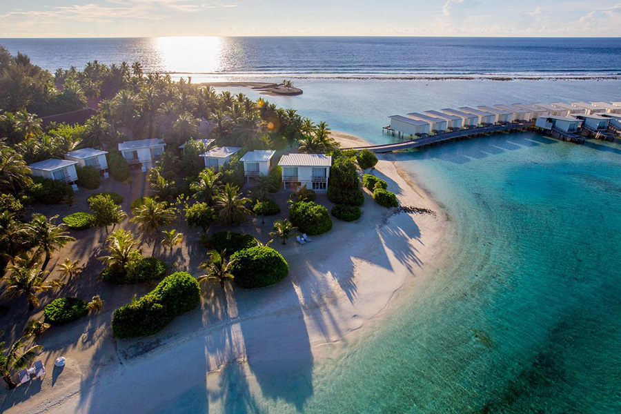 best surf resorts Maldives